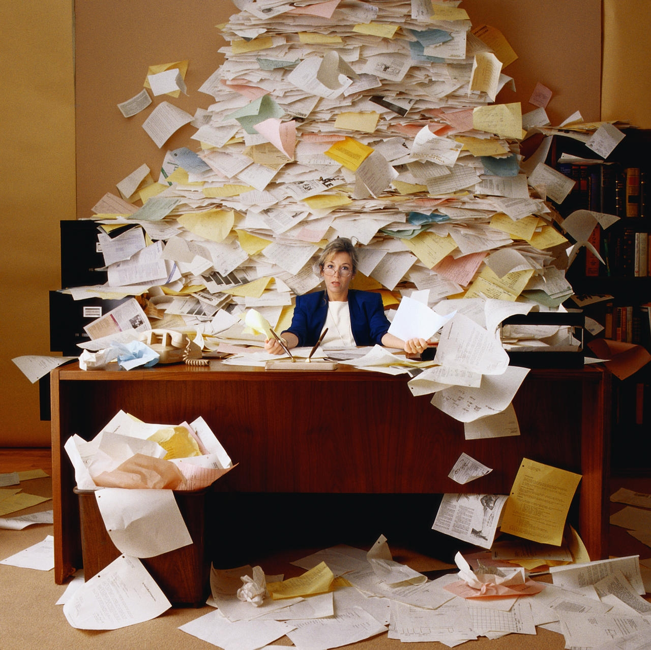Ah, the paperless office!