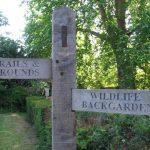sutton ecology centre sign